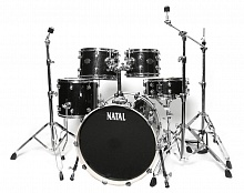 Ударная установка NATAL DRUMS ARCADIA DRUM KIT BLACK SPARKLE - JCS.UA