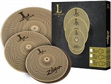 Набор тарелок ZILDJIAN LV468 LOW VOLUME L80 CYMBAL SET 14/16/18 - JCS.UA