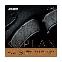 Струны для альта 4/4 D`ADDARIO KA410 MM Kaplan Amo Viola 4/4 Medium Scale, Medium Tension - JCS.UA