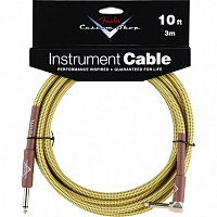 Кабель FENDER CUSTOM SHOP PERFORMANCE CABLE 10 ANGLED TW - JCS.UA