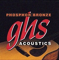 Струны GHS Strings S335 PHOSPHOR BRONZE - JCS.UA