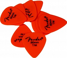 Набор медиаторов Fender 351 MATTE DELRIN ORANGE MEDIM 098-7351-750 - JCS.UA
