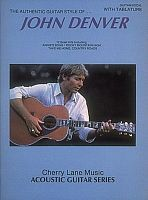 Hal Leonard 2506901 - John Denver Authentic Guitar Style - JCS.UA