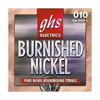Струны GHS Strings BNR-L BURNISHED NICKEL - JCS.UA