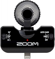 Стереомикрофон Zoom iQ5 Black - JCS.UA