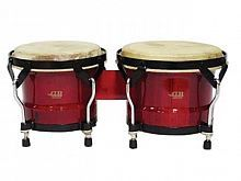 "Бонго DB Percussion BOBBS-500, 6.5"" & 7.5"" Wine Red - JCS.UA"